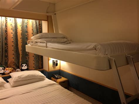 what is a pullman bed cabin on royal caribbean mariner of the seas cruise ship