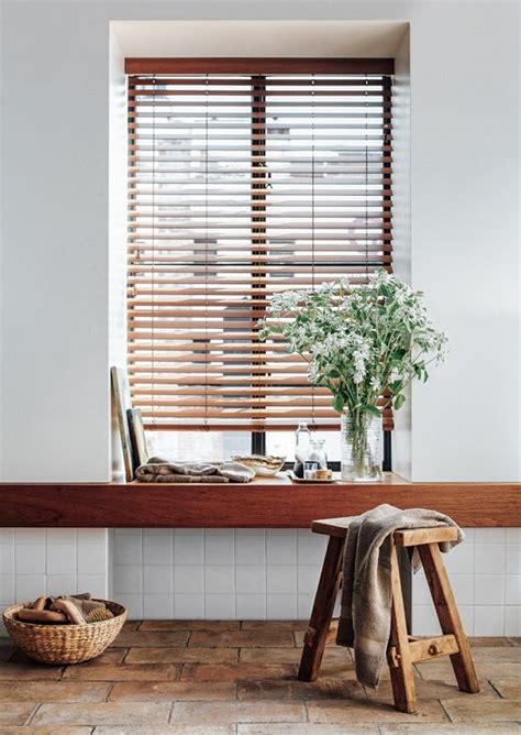 Kitchen Blinds Wooden 25 Best Ideas About Wood Blinds On Bamboo