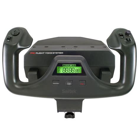 Pro System logitech g saitek pro flight yoke system joystick saitek