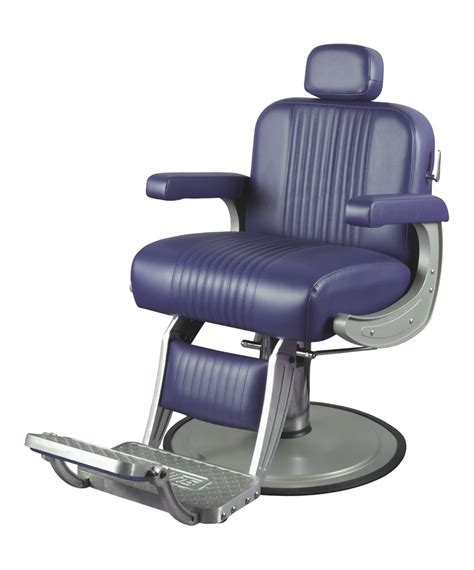 Collins Barber Chair by Collins B40 Cobalt Barber Chair
