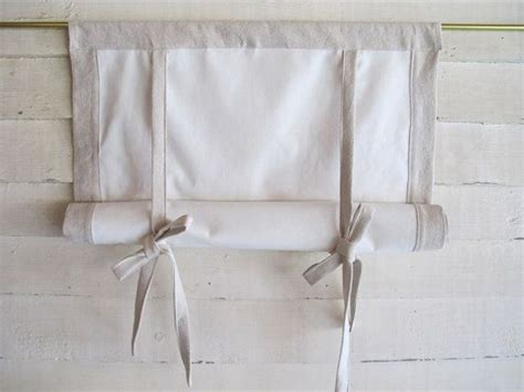 roll up curtain hardware cotton canvas 48 long swedish roll up shade stage by