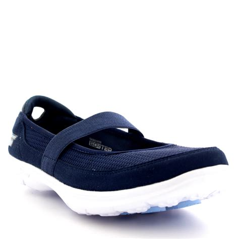 New Sepatu Skechers Skechers Skechers Original Skechers Go womens skechers go step original memory foam walking running trainers uk 3 8 ebay