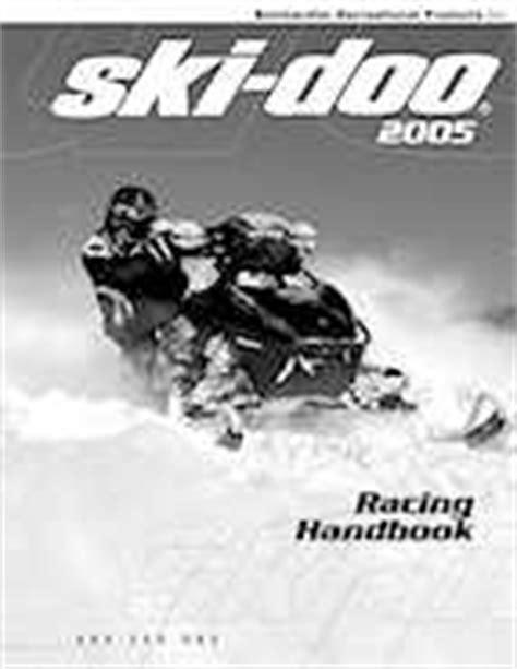 Skidoo Mack Z 1000 2006 Racing Handbook 9 95