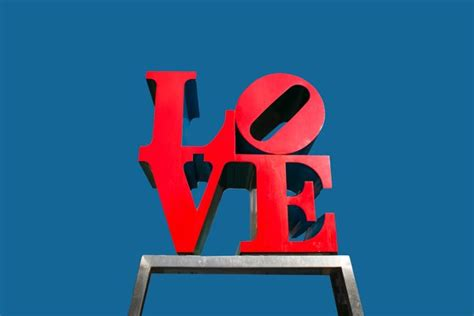 valentines day philadelphia valentines day ideas using robert indiana sculpture