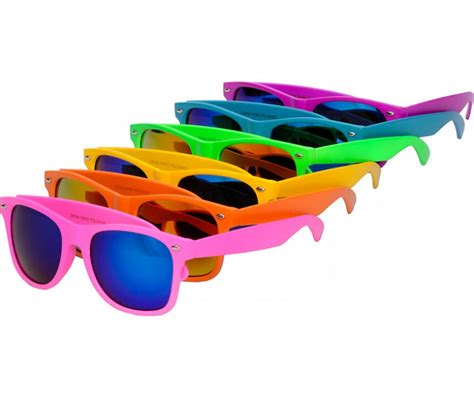 summer colored sunglasses