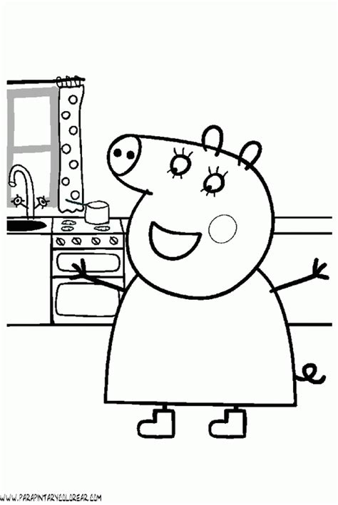 free pepa para colorear coloring pages free coloring pages of peppa pig trex