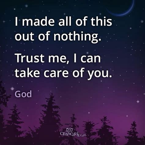 trust him he s got this inspirational sayings to keep