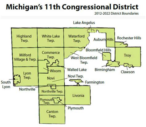 11th congressional district map the mi 11 clownshow continues cassis refuses to endorse