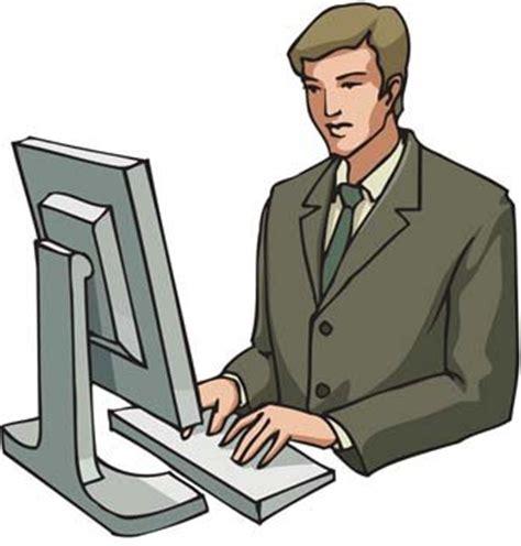 clipart lavoro uomo d affari suo rapporto di lavoro file vettoriale