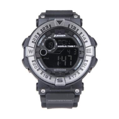 Eiger Jam Leschaux 4 0 Black jual eiger leschaux 4 0 jam tangan sport digital black