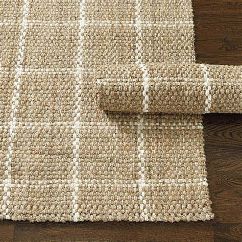 ballard designs kitchen rugs windowpane jute rug ballard designs