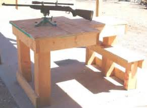 How To Make A Portable Shooting Bench - free shooting bench plans fourteen do it yourself designs 171 daily bulletin