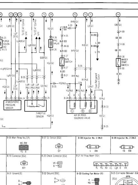 2001 mazda protege wiring diagram 2001 free engine image