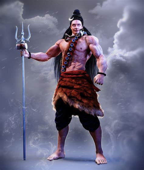 Lord Shiva 3d Model Free