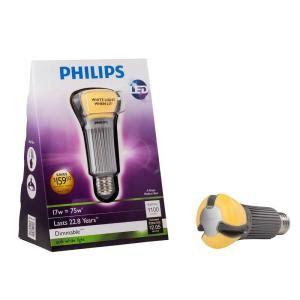 Lu Led Philips 8 Watt philips 17 watt 75w a21 soft white 2700k led light