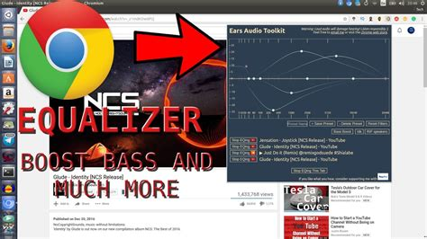 chrome equalizer chrome equalizer extension to boost bass and much more