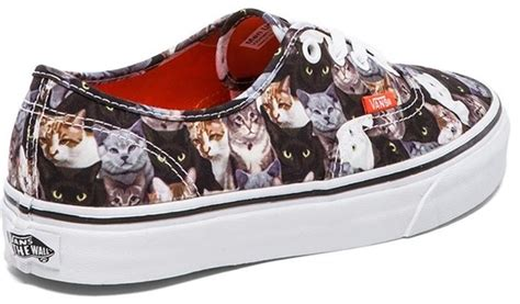 sneakers with cats on them vans aspca cat trainers from a tr