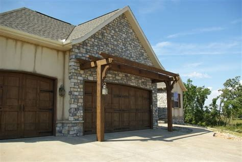 garage door pergola landscape ideas pinterest