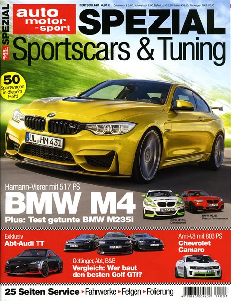 auto motor sport de auto motor und sport bringt das spezial sportscars