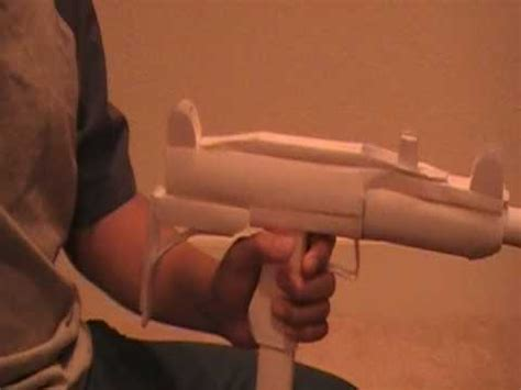 How To Make A Paper Smg - paper uzi smg