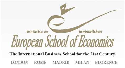 Mba Ese Business School by European School Of Economics Wanted In Rome