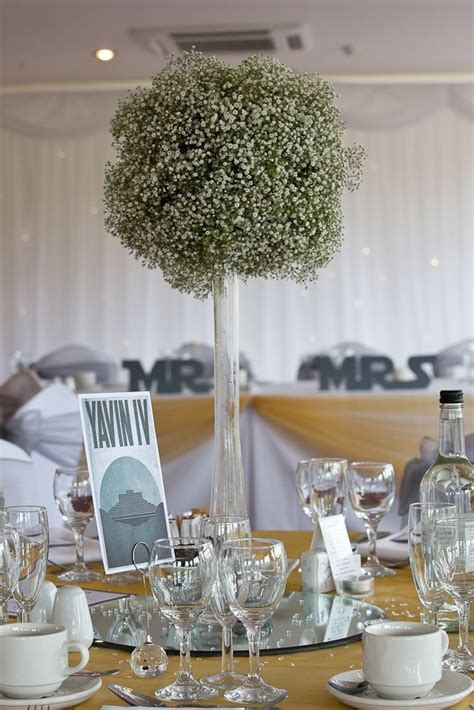 Wars Table Decorations by 55 Best Images About Gypsophila Wedding Ideas On