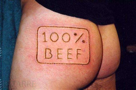 tattoo branding designs humans as cows 100 beef other sts to prove