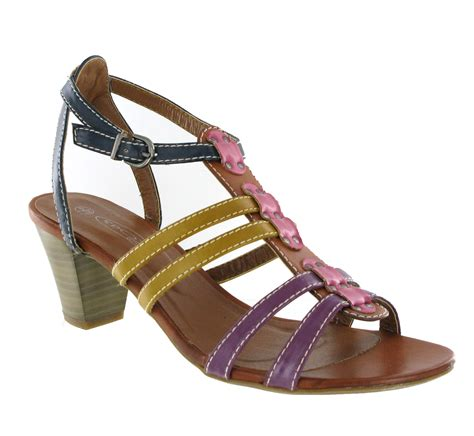 8 Must Gladiator Sandals For Summer by Womens Gladiator Style Multi Coloured Summer Buckle
