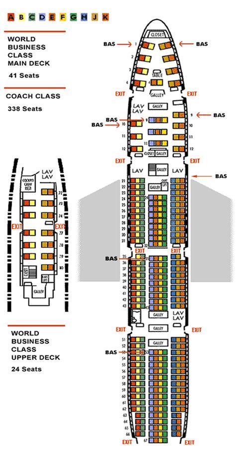 aircraft 747 seating plan boeing 747 seating plan airways world traveller