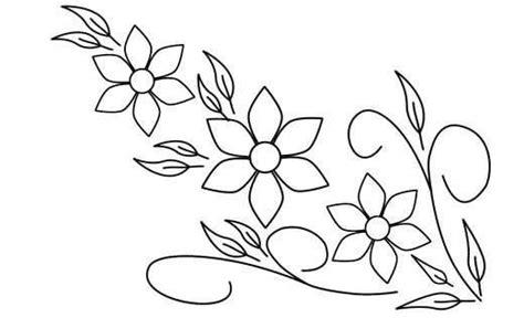 imagenes de flores bordadas a mano dibujos flores para bordar a mano imagui dibujos