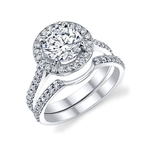 halo ring wedding bands for halo ring