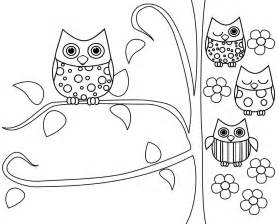 free owl coloring pages free coloring pages of owl pictures