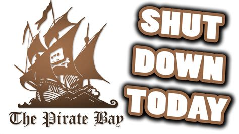 bitconnect getting shut down the pirate bay has been shut down by police permane
