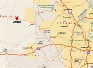 Dallas Georgia Map dallas weather related to real estate listings of homes
