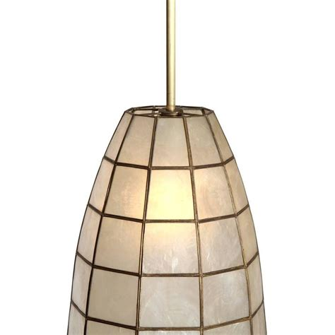 Capiz Hanging L by Capiz Shell Ceiling Pendants At 1stdibs