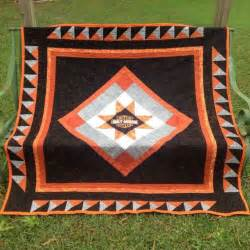 custom harley davidson throw quilt quilt hobby