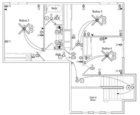 draw residential wire outer insulation component schematic diagram wiring