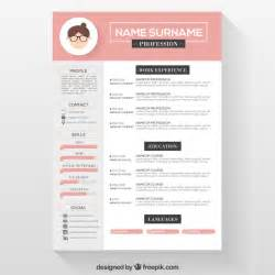 Unique Resumes Templates Free by Resume Template Free Psd 4 Colors On Behance Inside