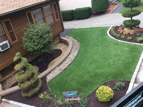 Done Right Landscape Construction At Synthetic Turf Rubber Mulch Stonescaping With