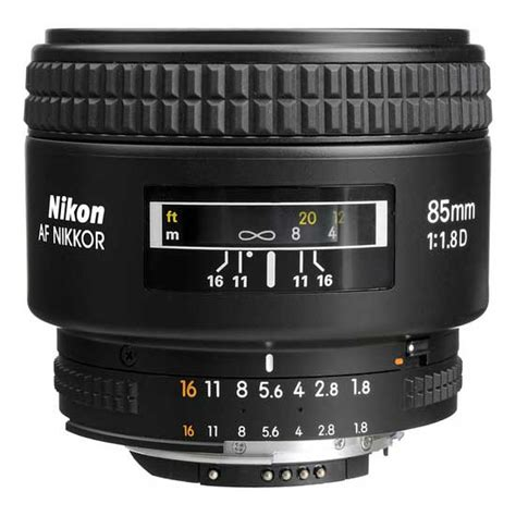 Lensa Nikon Af 50mm F 1 4 D jual nikon af nikkor 85mm f 1 8d harga dan spesifikasi