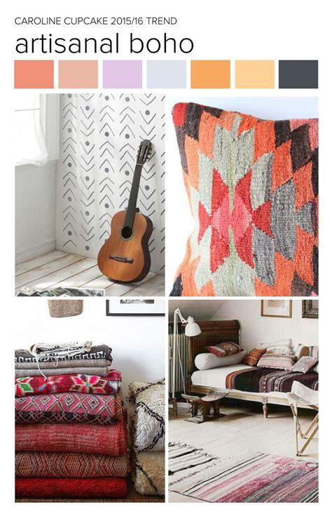 home decor pattern trends 2016 carolinecupcake trend inspiration artisanal boho