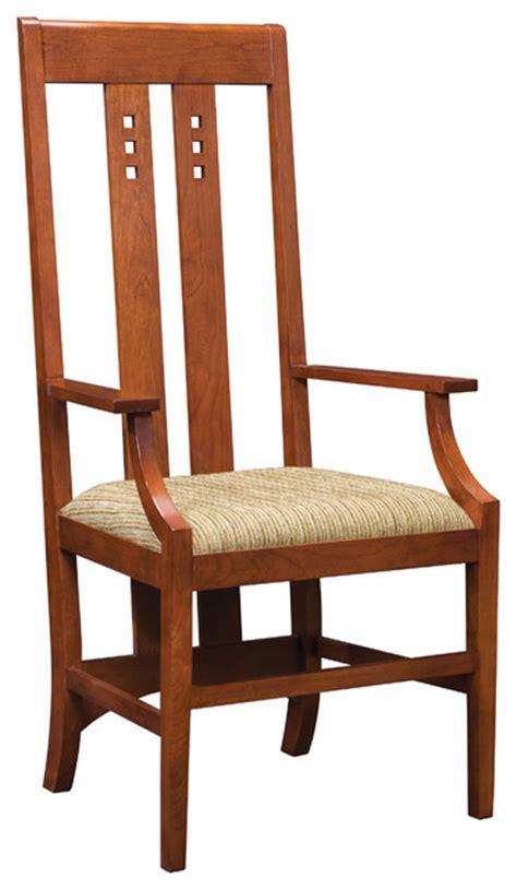 stickley mackintosh arm chair 89 91 8865 a