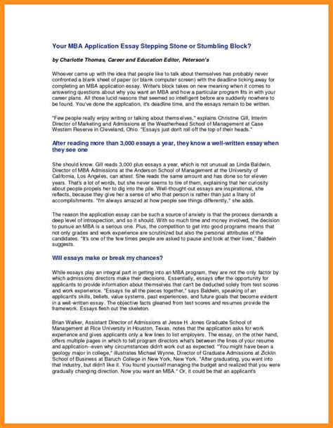 William And Mba Review sle business school essays resume template easy