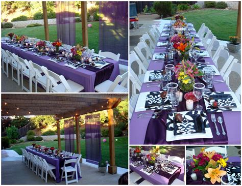 college backyard ideas table scapes on pinterest graduation parties napkin