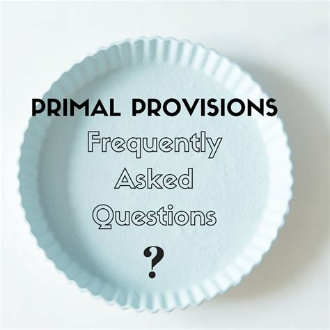 my migraine miracle you re primal provisions frequently asked questions my