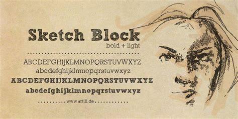 dafont pencil sketch block font dafont com