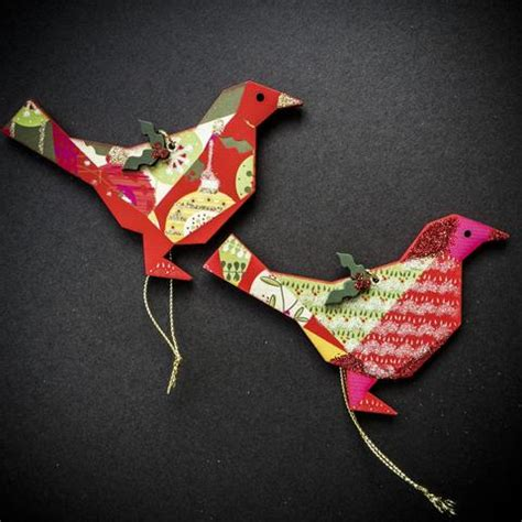 Origami Bird Decorations - origami bird decorations trees 4 you