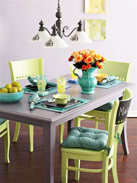 sense and simplicity painting the dining room table