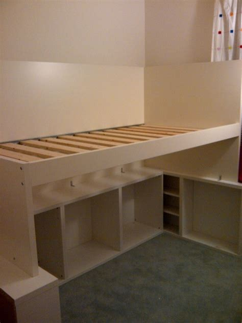 diy ikea bed 25 best ideas about queen loft beds on pinterest loft