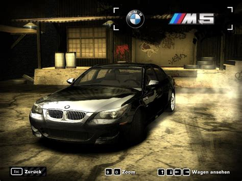 need for speed most wanted bmw m5 e60